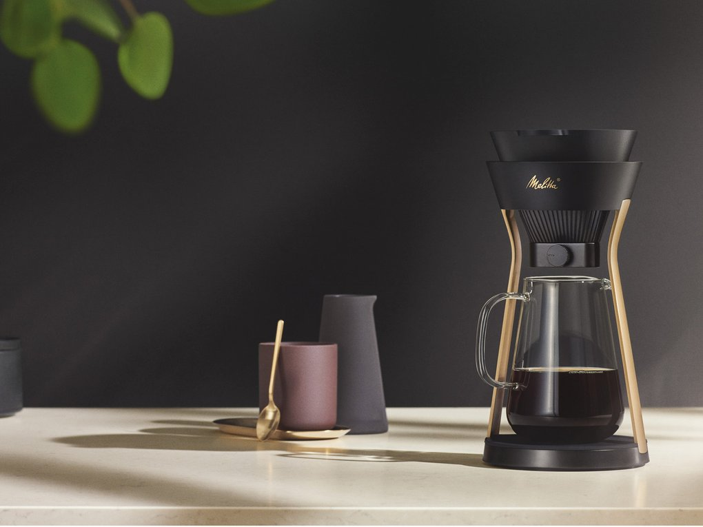 Melitta® AMANO: a Pour Over coffeemaker with an elegant design
